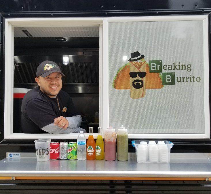 Carlos Ramirez in food truck