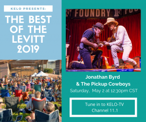 KELO TV Broadcast: Jonathan Byrd & the Pickup Cowboys