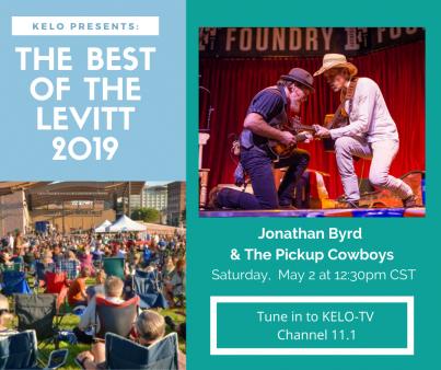 KELO TV Broadcast: Jonathan Byrd & the Pickup Cowboys