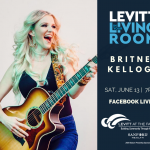 britnee kellogg on levitt in your living room