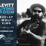 Burlap Wolf King | Levitt in Your Living Room