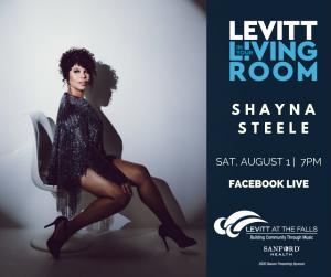 Shayna Steele levitt in your living room
