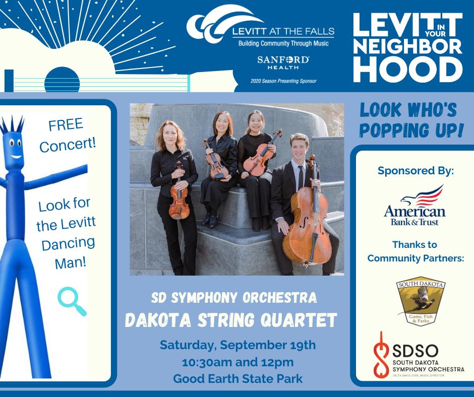 dakota string quartet - levitt in your neighborhood