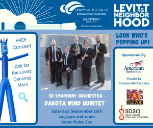 Dakota Wind Quintet - Levitt In Your Neighborhood