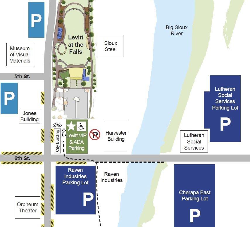 Parking Lot map image