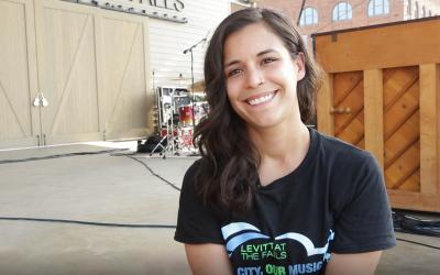 Hello, Neighbor! Meet Levitt Volunteer Alyssa
