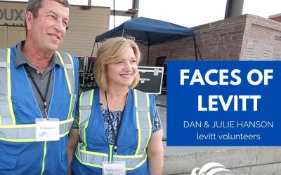 Faces of the Levitt | Meet Dan & Julie Hanson